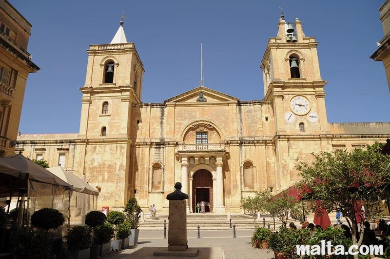 Мальта Мальта the st john s co cathedrale in valletta